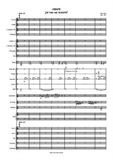Variants (for piano and orchestra): Variants (for piano and orchestra) by Jordan Grigg