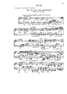 Deluge, Op.32: Movement II No.1-2, for soloists, choir and piano by Friedrich Ernst Koch