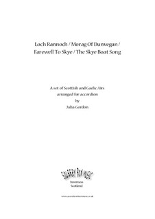 Loch Rannoch / Morag Of Dunvegan / Farewell To Skye / The Skye Boat Song: Complete set by folklore