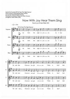 Now With Joy Hear Them Sing: Now With Joy Hear Them Sing by Johann Georg Ebeling, Helen Walker