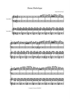 Danse Diabolique: For two accordions by Joseph Hellmesberger