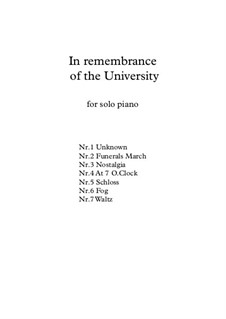 In Remembrance of the University, KWV.5: In Remembrance of the University by Mohsen Kushki
