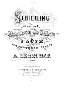 Schierling. Morceau de salon, Op.146: Solo part by Adolf Terschak