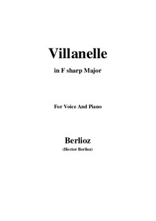 Les nuits d'été (Summer Nights),  H.81 Op.7: No.1 Villanelle (F sharp Major) by Hector Berlioz