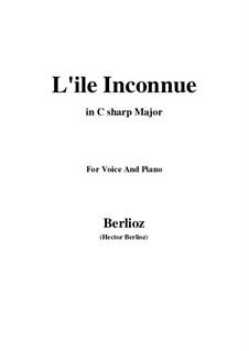 Les nuits d'été (Summer Nights),  H.81 Op.7: No.6 L'île inconnue (C sharp Major) by Hector Berlioz