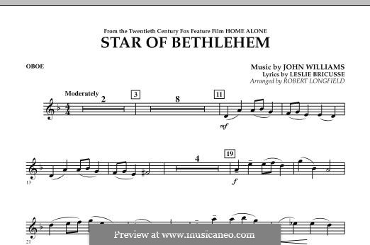 The Star of Bethlehem (from 'Home Alone'): Oboe part by John Williams