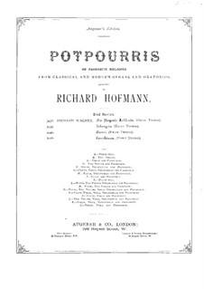 Potpourri on 'Lohengrin' by Wagner for Flute, Violin, Cello and Piano: Flute part by Richard Hofmann