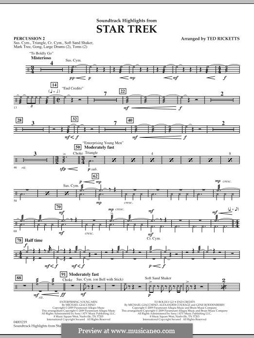 Star Trek: Percussion 2 part by Michael Giacchino