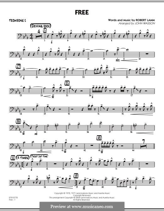 Free: Trombone 2 part by Robert Lamm