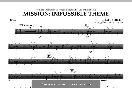 Mission: Impossible Theme: Viola part by Lalo Schifrin