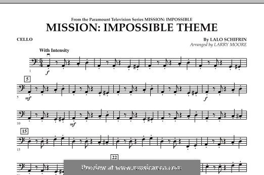 Mission: Impossible Theme: Cello part by Lalo Schifrin