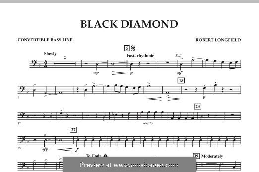 Black Diamond: Convertible Bass Line part by Robert Longfield