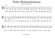 Öcher Weihnachtskanon: Öcher Weihnachtskanon by Viola Kramer