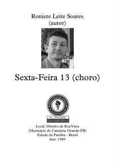Sexta-Feira Treze: Sexta-Feira Treze by Roniere Leite Soares