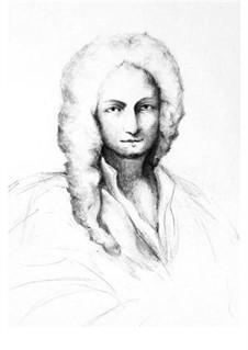 Concerto for Strings in A Major, RV 158: Score, parts by Antonio Vivaldi