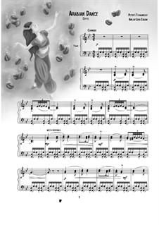 No.5 Arabian Dance: For piano by Pyotr Tchaikovsky