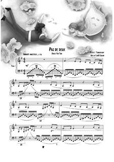 No.14 Pas de deux: For piano by Pyotr Tchaikovsky