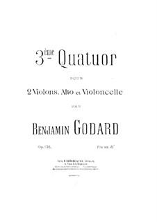 String Quartet No.3 in A Major, Op.136: Cello part by Benjamin Godard
