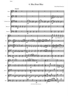 Sweet Suite: Blue Boar Blue for wind quintet by David W Solomons