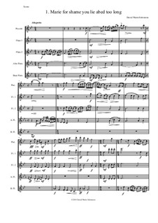 Sweet Suite: For flute quintet (piccolo, 2 flutes, alto flute and bass flute) by David W Solomons