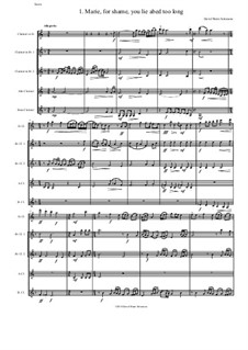 Sweet Suite: For clarinet quintet (E flat, 2 B flats, alto and bass) by David W Solomons