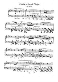 Nocturnes, Op.32: No.2 in A Flat Major by Frédéric Chopin