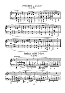 No.20 in C Minor: For piano by Frédéric Chopin
