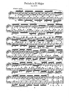 No.5 in D Major: For piano by Frédéric Chopin