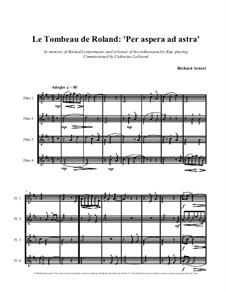 Per Aspera Ad Astra - Full Score: Per Aspera Ad Astra - Full Score by Richard Arnest