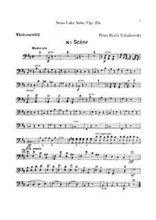 Version B: Cellos part by Pyotr Tchaikovsky