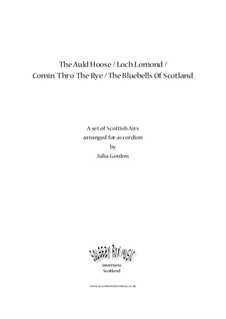 The Auld House / Loch Lomond / Comin' Thro' The Rye / The Bluebells Of Scotland: Complete set by folklore