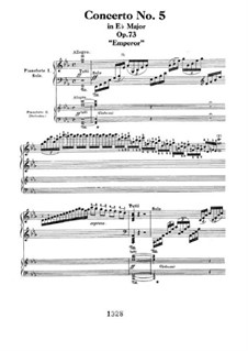 Complete Concerto: Version for two pianos four hands by Ludwig van Beethoven