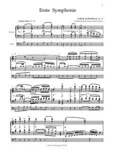Complete Symphony: Version for organ by Ludwig van Beethoven