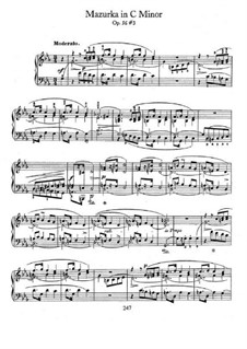 Mazurkas, Op.56: No.3 in C Minor by Frédéric Chopin