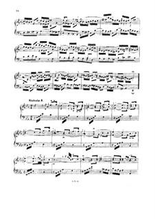No.5 in E Flat Major, BWV 791: For piano by Johann Sebastian Bach