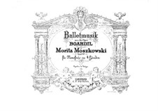 Boabdil, Op.49: Ballet Music, for Piano Four Hands by Moritz Moszkowski