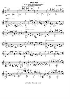 Fantasy on the theme by Jethro Tull (Elegy) for classical guitar solo: Fantasy on the theme by Jethro Tull (Elegy) for classical guitar solo by Andrei Blinov