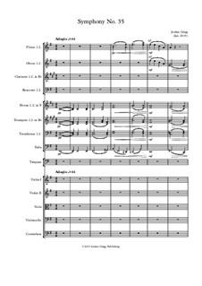 Symphony No.35: Symphony No.35 by Jordan Grigg