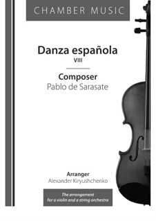 Spanish dance No.8: Spanish dance No.8 by Pablo de Sarasate
