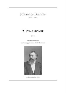 Complete set: Version for organ by Johannes Brahms