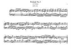 Five Preludes, BWV 939-943: Prelude No.3 by Johann Sebastian Bach