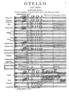 Otello: Full score by Giuseppe Verdi