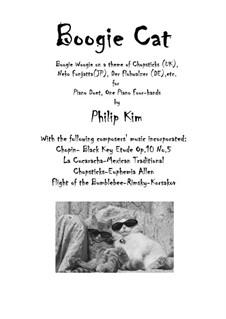 Boogie Cat: Boogie Cat by Frédéric Chopin, Nikolai Rimsky-Korsakov, Philip Kim