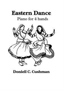 Eastern Dace - Duet for 4 Hands: Eastern Dace - Duet for 4 Hands by Doniell Cushman