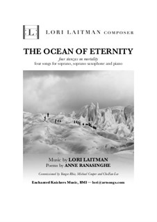 The Ocean of Eternity - four stanzas on mortality: The Ocean of Eternity - four stanzas on mortality by Lori Laitman