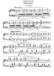 Silhouettes, B.32 Op.8: Complete set by Antonín Dvořák
