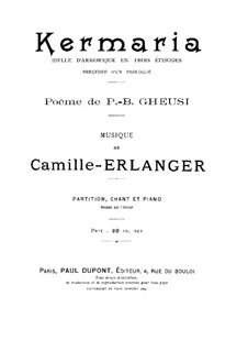 Kermaria: Kermaria by Camille Erlanger