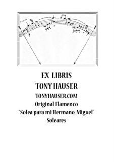 Solea para mi hermano, Miguel: Solea para mi hermano, Miguel by Tony Hauser
