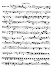 Complete Opera: For string quartet – cello part by Carl Maria von Weber