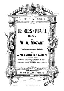 Complete Opera: For soloists, choir and piano by Wolfgang Amadeus Mozart